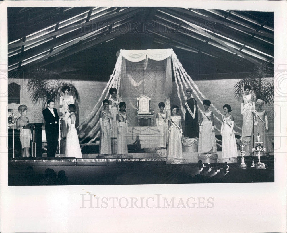 1966 Miss St Petersburg, Florida Contest Press Photo - Historic Images