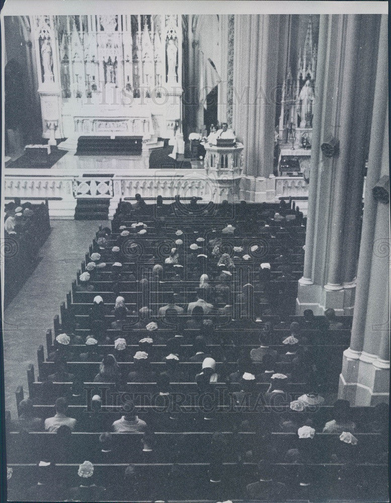 1964 Denver, Colorado Basilica of the Immaculate Conception Press Photo - Historic Images