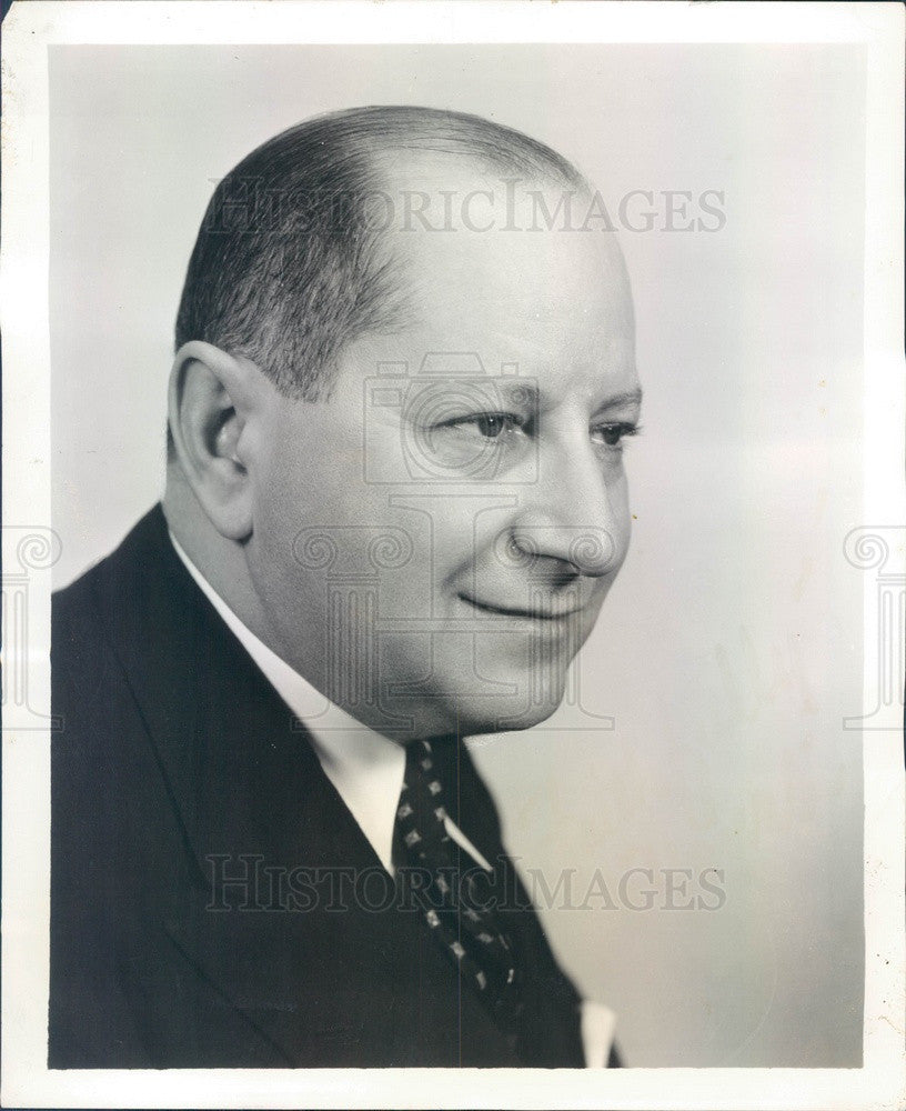 1934 Broadway Composer & Conductor Sigmund Romberg Press Photo - Historic Images