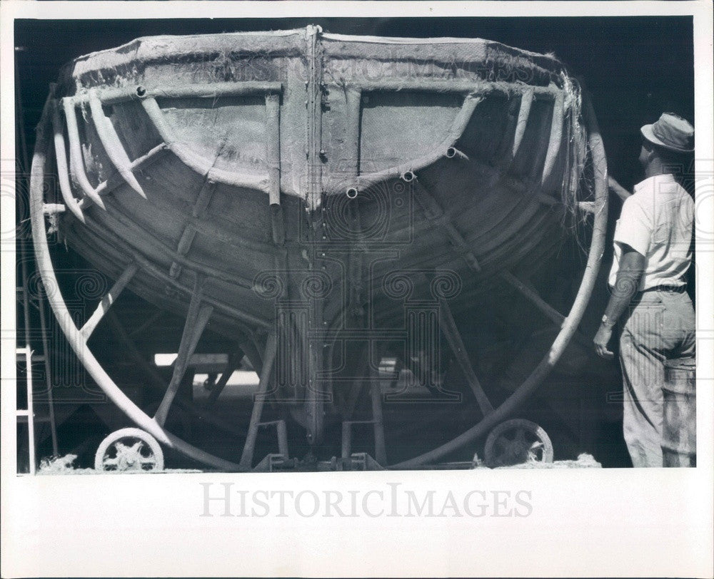 1967 St Petersburg, Florida Morgan Yacht Corp Press Photo - Historic Images