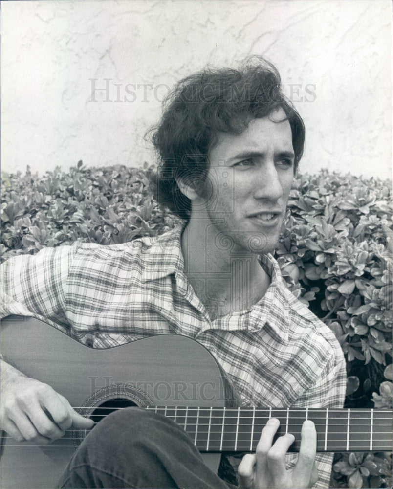1982 Fingerstyle Guitarist/Composer Richard Gilewitz Press Photo - Historic Images