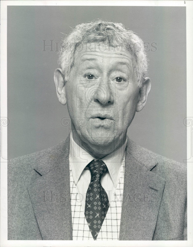 1984 Hollywood Actor Jack Gilford TV Show The Duck Factory Press Photo - Historic Images