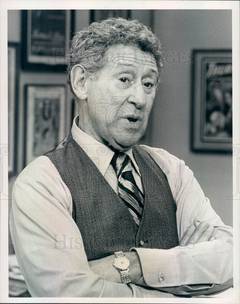 1976 Hollywood Actor Jack Gilford TV Show Don't Call Us Press Photo - Historic Images