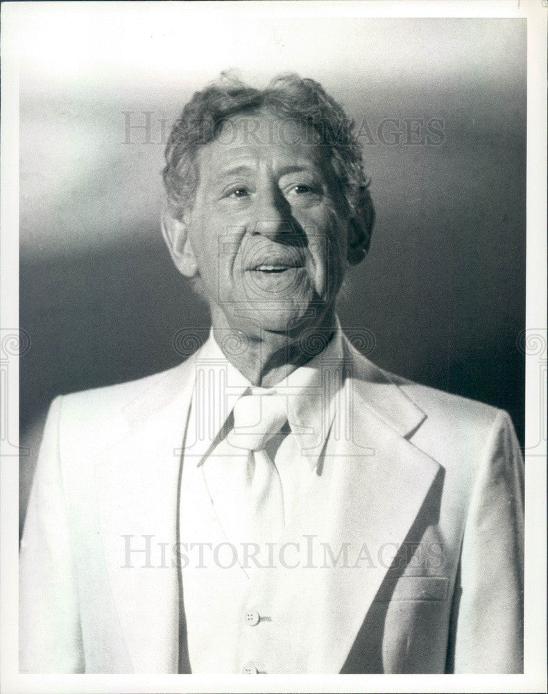 1981 Hollywood Actor Jack Gilford TV Show Heaven on Earth Press Photo - Historic Images