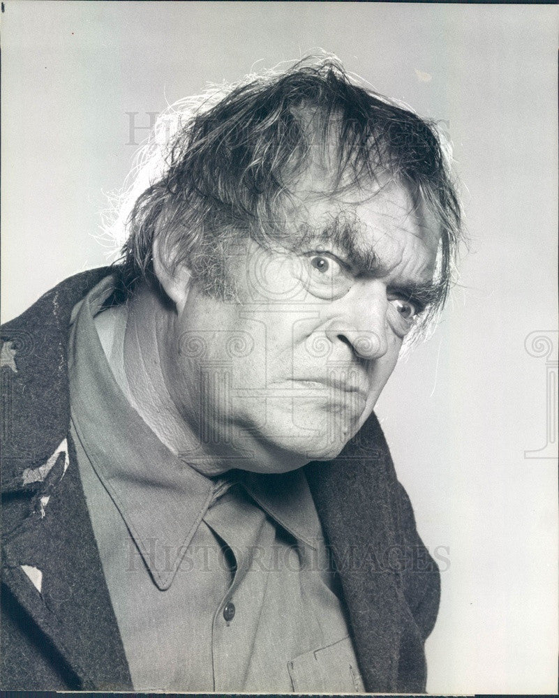 1979 American Hollywood Actor Jack Elam TV Show Struck by Lightning Press Photo - Historic Images