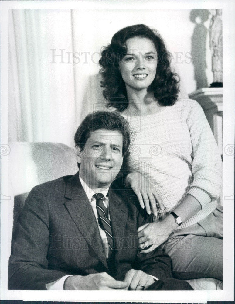 1983 Actors Janet Eilber & Michael Murphy TV Show The Miracles Press Photo - Historic Images