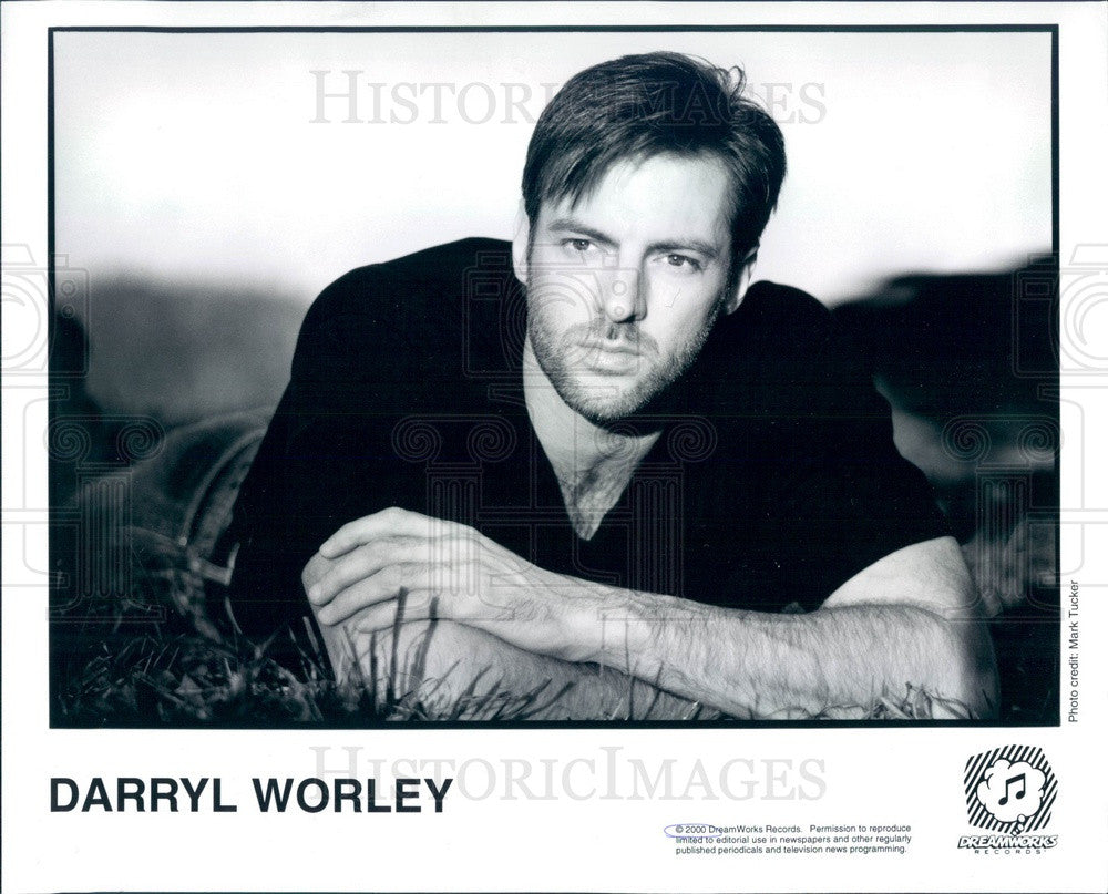 2000 American Country Music Artist Darryl Worley Press Photo - Historic Images