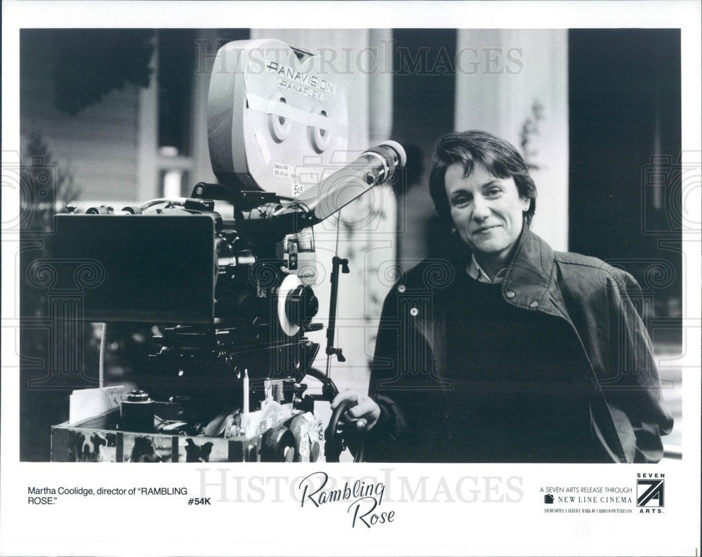1992 Hollywood Film Director Martha Coolidge Movie Rambling Rose Press Photo - Historic Images