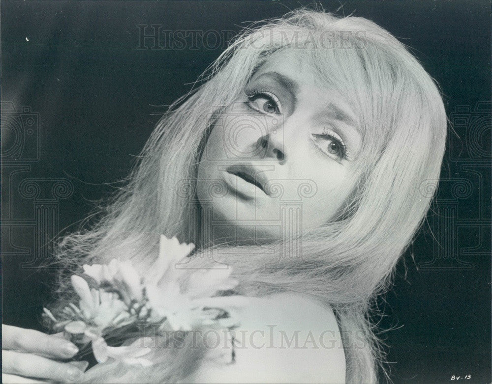 1967 British Actress Barbara Leigh-Hunt Press Photo - Historic Images