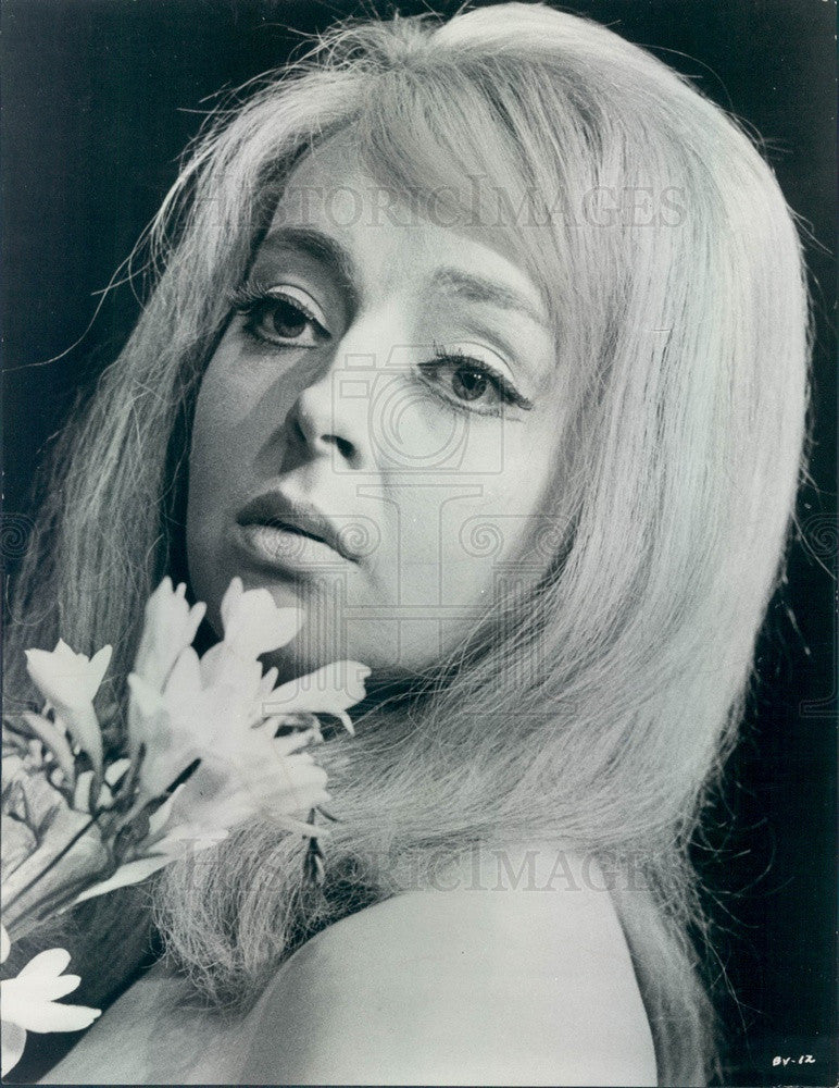1967 Brithis Actress Barbara Leigh-Hunt Press Photo - Historic Images