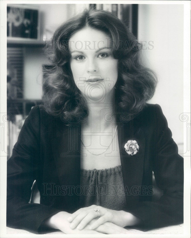 1982 Playboy Enterprises Vice President Christie Hefner Press Photo - Historic Images