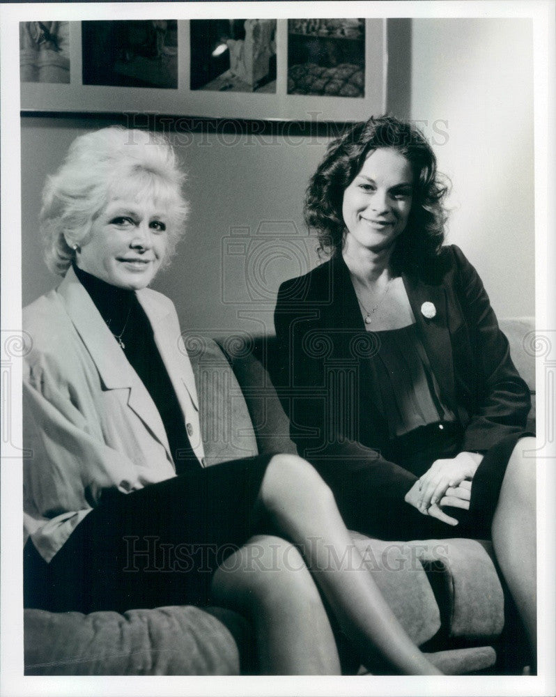1989 Playboy Enterprises Vice President Christie Hefner Press Photo - Historic Images