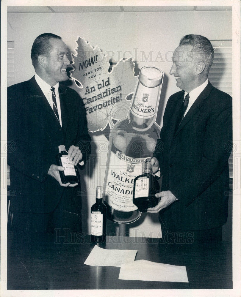 1967 Denver, CO Larry Crane, President of Colorado Beverage Co Press Photo - Historic Images