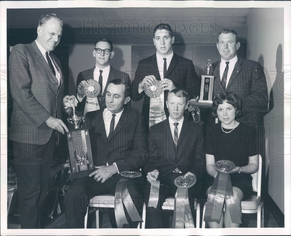 1966 Sterling, CO Northeastern Jr College Livestock Judging Champs Press Photo - Historic Images