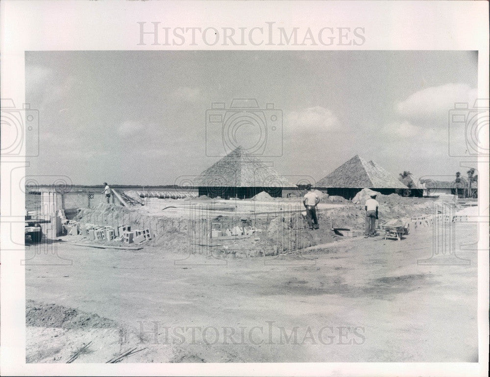 1972 Port Charlotte Beach, Florida Redevelopment Press Photo - Historic Images