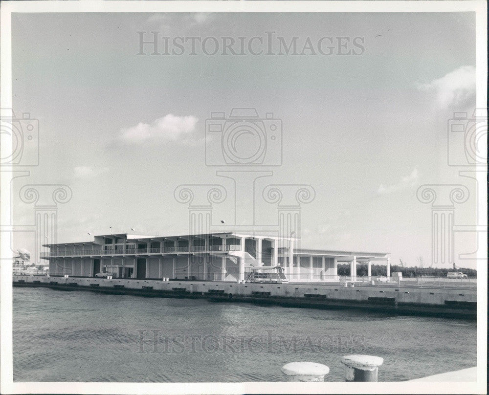 1969 Port Everglades, Florida Press Photo - Historic Images