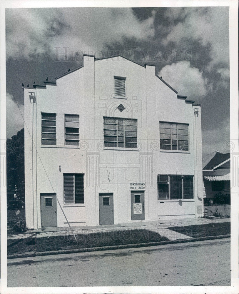 1979 St Petersburg, Florida JW Johnson Branch Library Press Photo - Historic Images