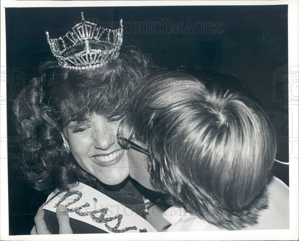 1980 Miss Dunedin, Florida Gail Sullivan Press Photo - Historic Images