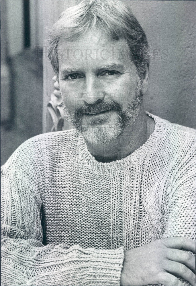 1985 Fashion Designer Bill Ditfort Press Photo - Historic Images