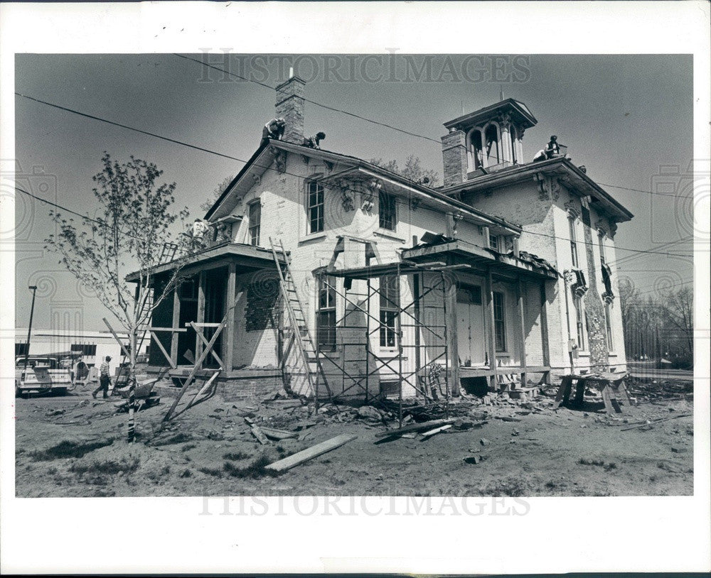 1982 Sterling Heights, Michigan Historic Upton House Preservation Press Photo - Historic Images