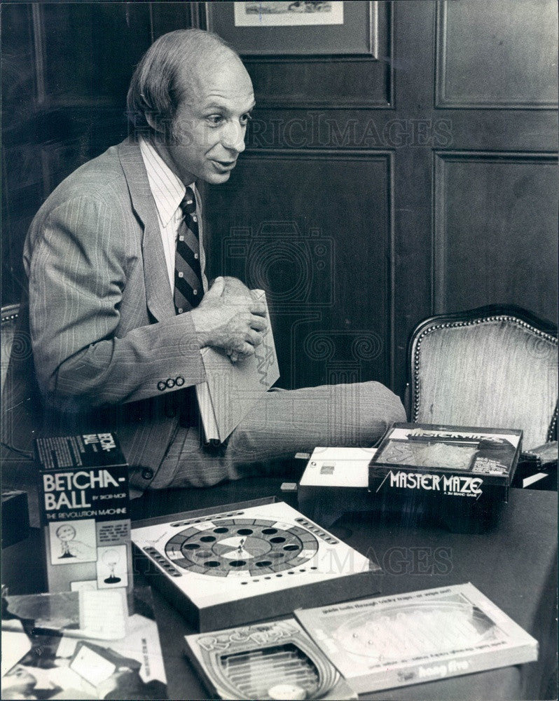 1979 Denver, Colorado Game Inventor & Lawyer Sandy Kraemer Press Photo - Historic Images
