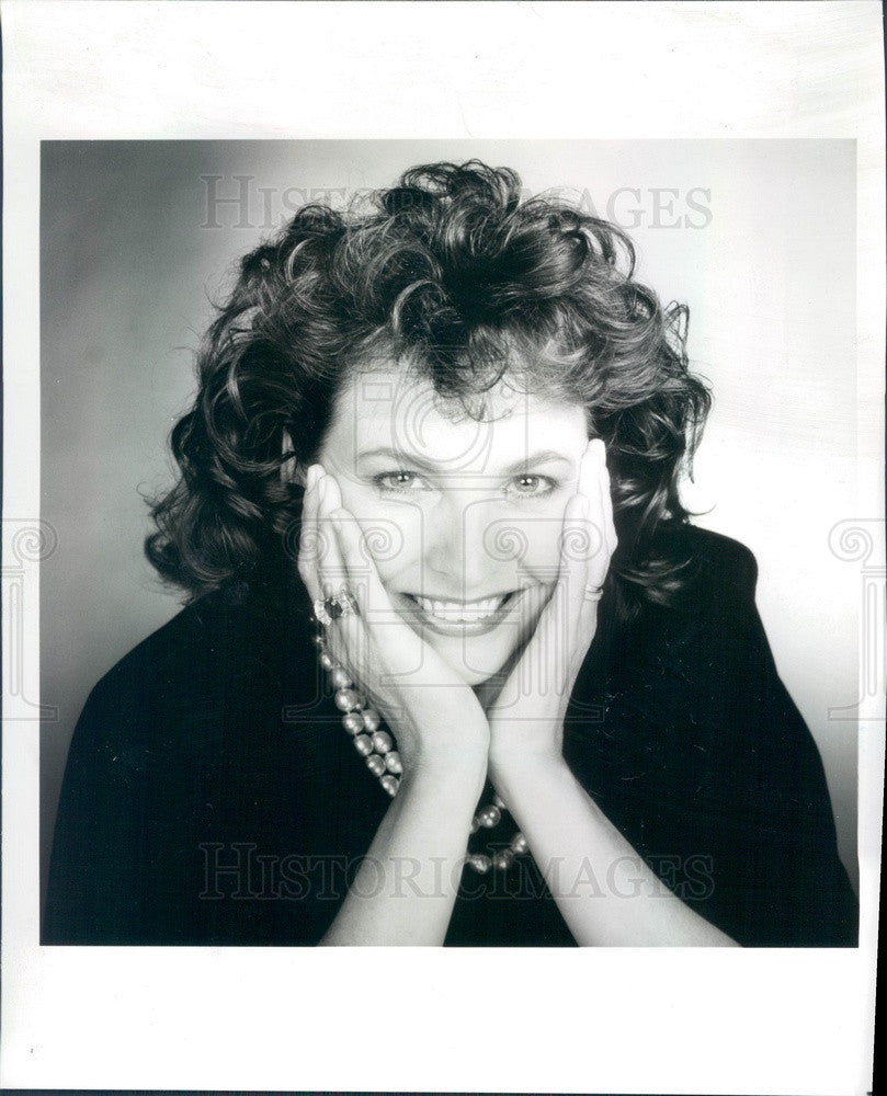 1989 Denver, Colorado Designer Cecilia Metheny Press Photo - Historic Images