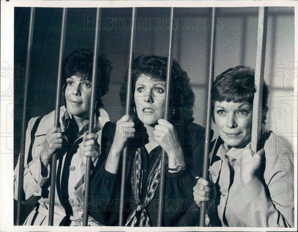 1981 Hollywood Actors Lynn Redgrave & Aneta Corsaut in House Calls Press Photo - Historic Images