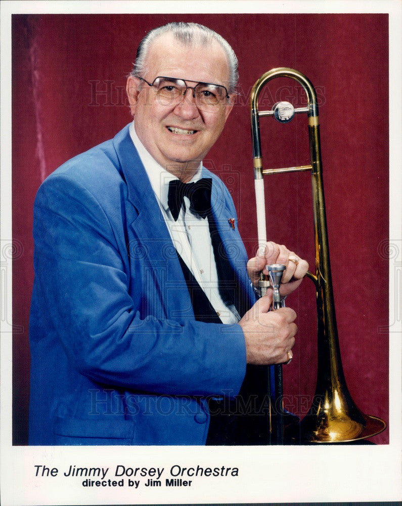 1995 American Jazz Musician Jimmy Dorsey Press Photo - Historic Images