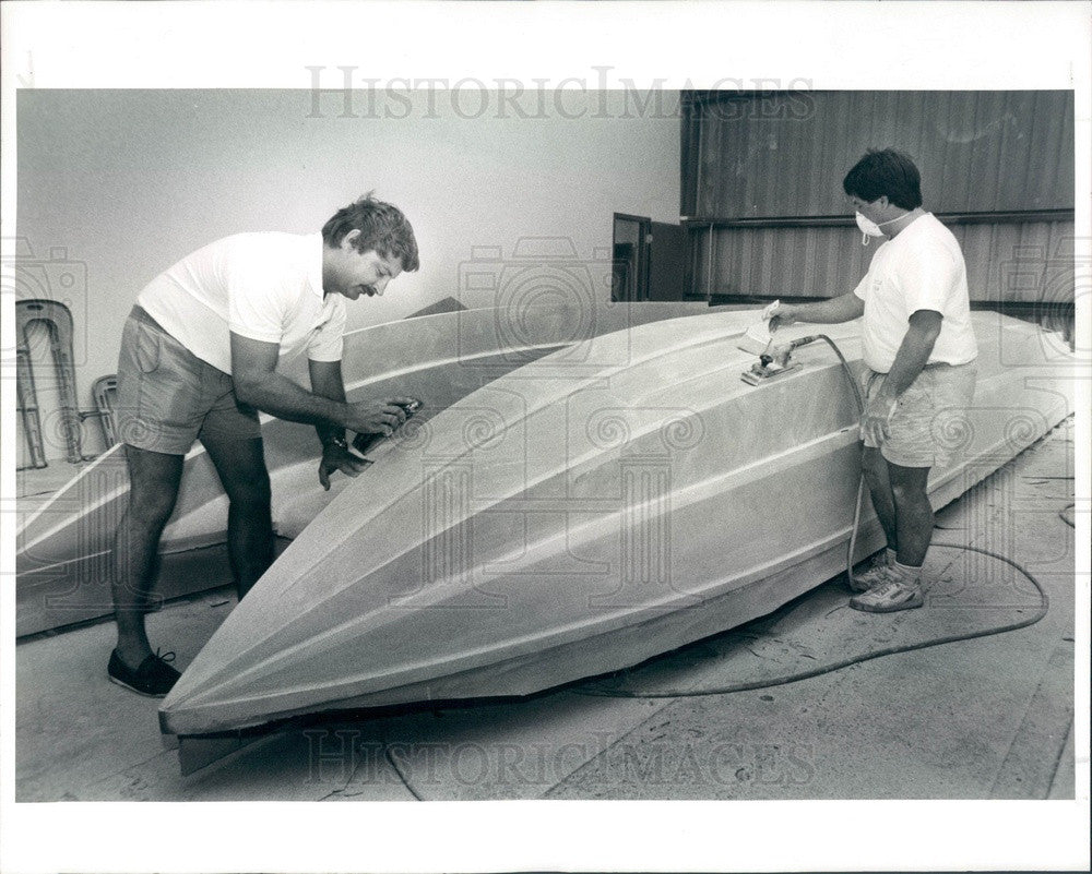 1993 St Petersburg, Florida Spectre Powerboats President Jay Pilini Press Photo - Historic Images