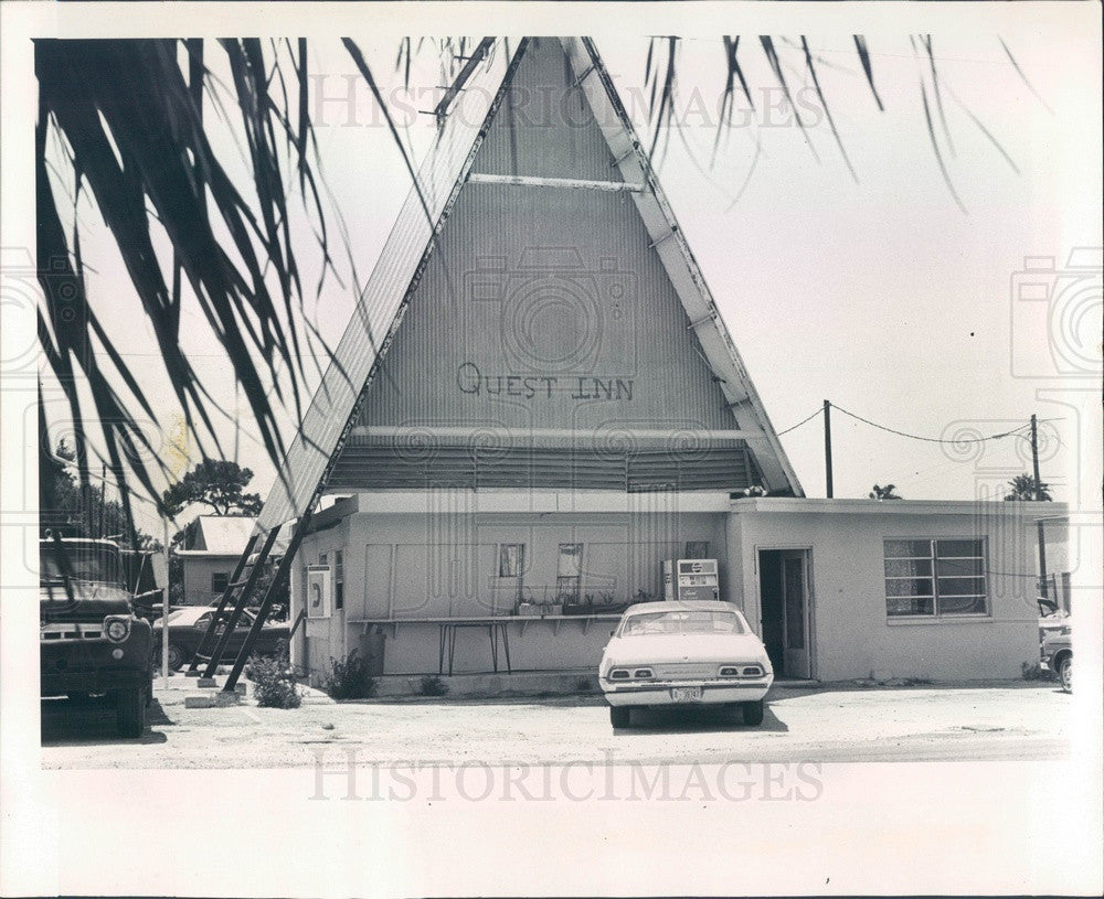 1974 Clearwater, Florida Quest Inn Youth Center Press Photo - Historic Images