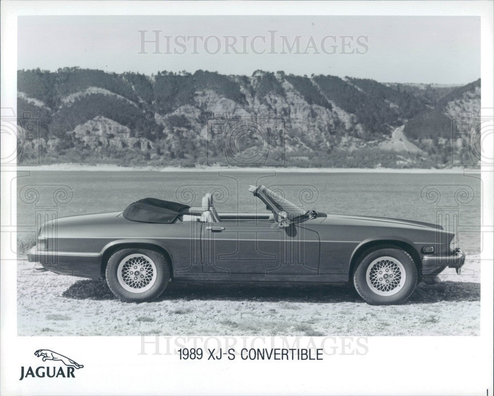 Undated Jaguar 1989 XJ-S Convertible Automobile Press Photo - Historic Images