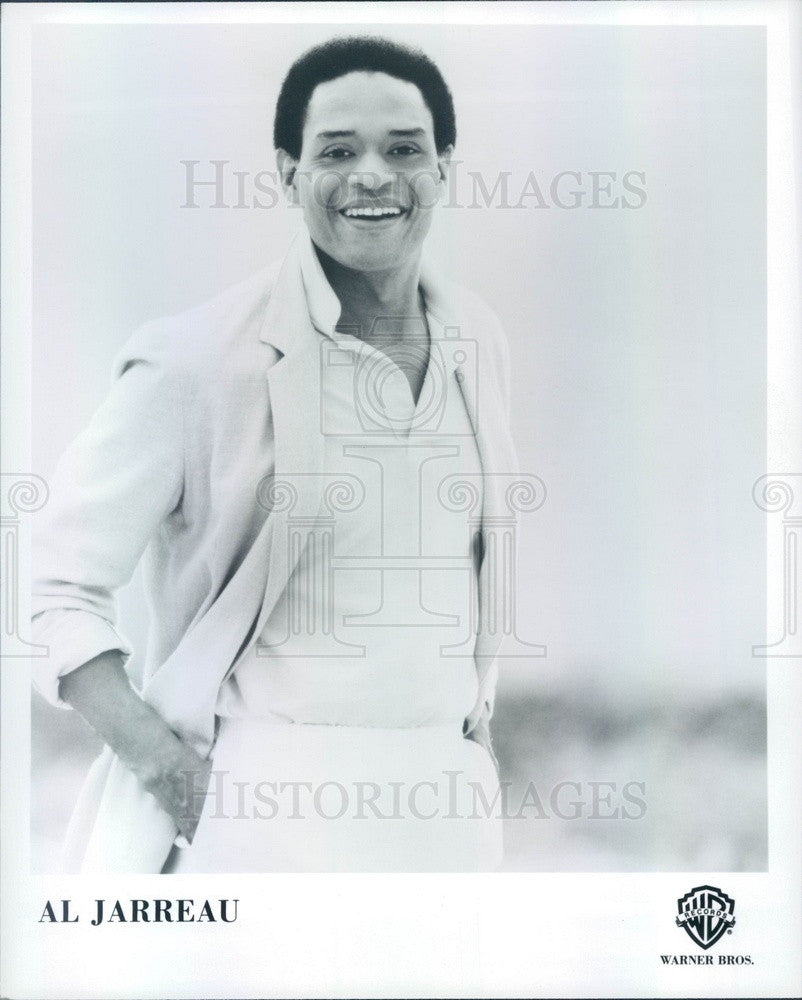 1988 American Jazz Singer Al Jarreau Press Photo - Historic Images