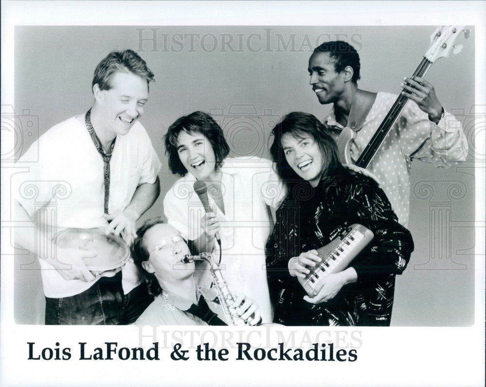 1990 Children's Music Group Lois Lafond & the Rockadiles Press Photo - Historic Images
