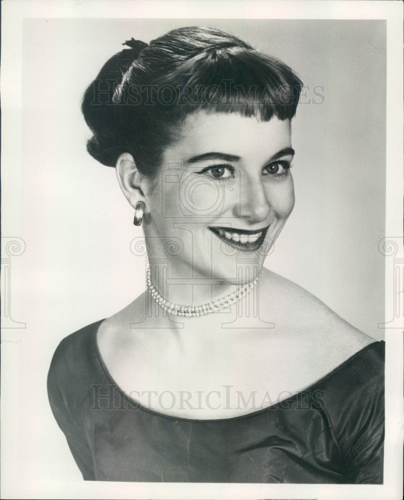 1954 American Hollywood Actress Nancy Malone Press Photo - Historic Images