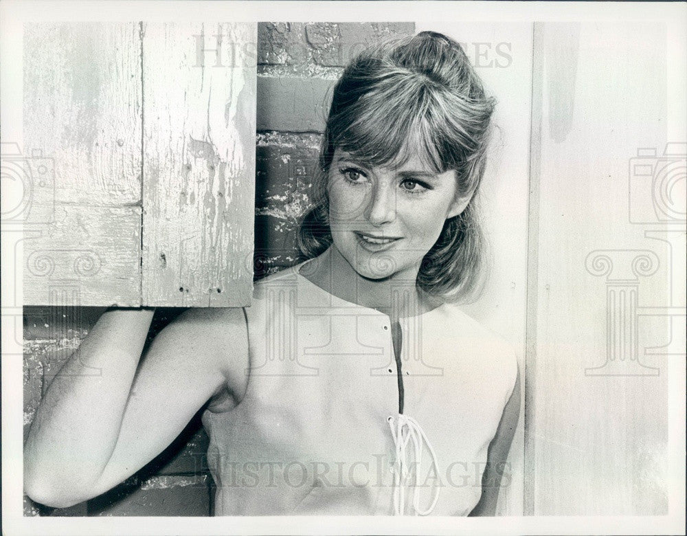 1968 American Hollywood Actress Nancy Malone Press Photo - Historic Images