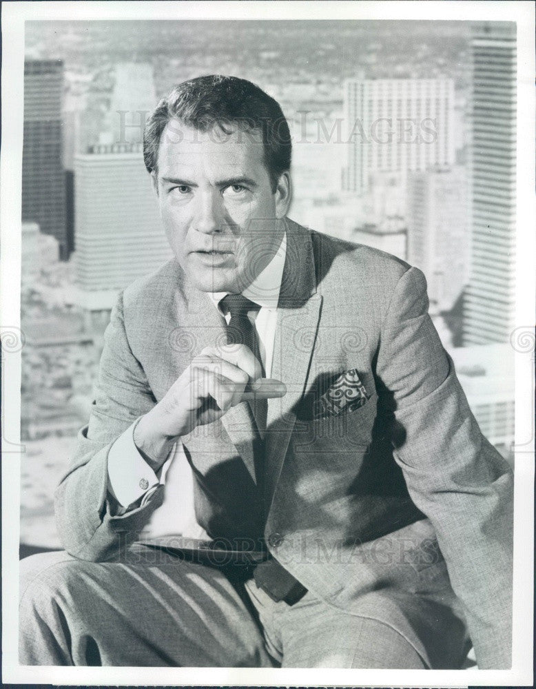 1967 American Actor Carl Betz TV Show Judd For the Defense Press Photo - Historic Images