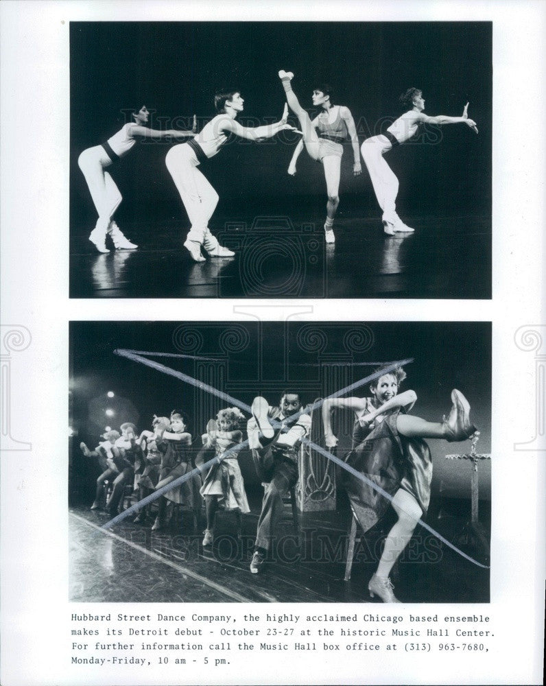 1985 Hubbard Street Dance Company Press Photo - Historic Images