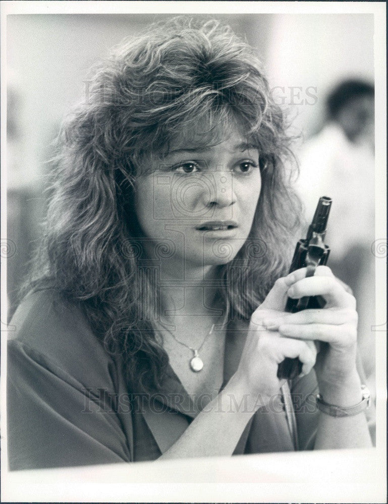 1985 American Hollywood Actress Valerie Bertinelli in Rockabye Press Photo - Historic Images