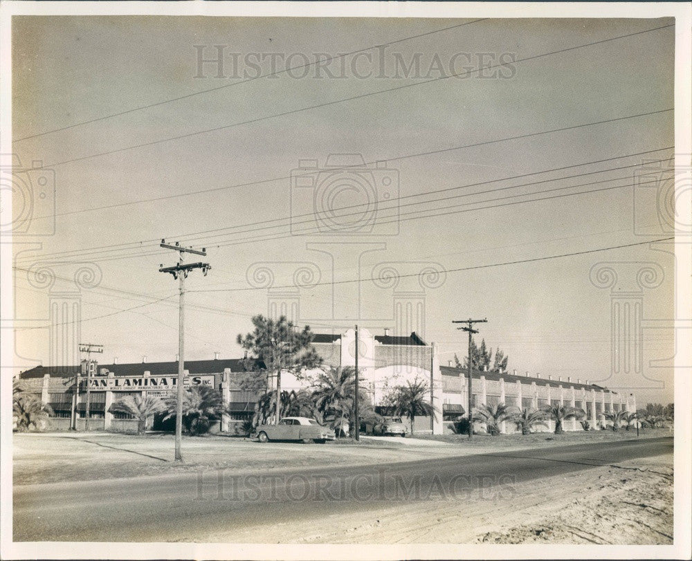 Undated St Petersburg, Florida Pan-Laminates Inc Press Photo - Historic Images