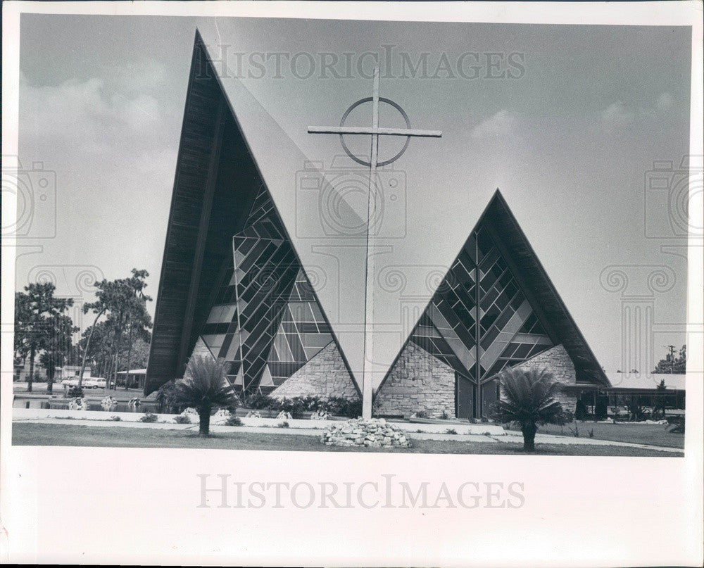 Undated St Petersburg, Florida Grace Lutheran Church Press Photo - Historic Images