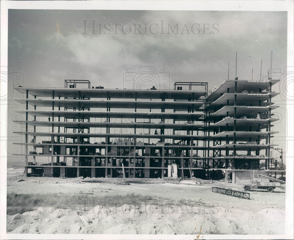 1958 St Petersburg, Florida Redington Reef Construction Press Photo - Historic Images