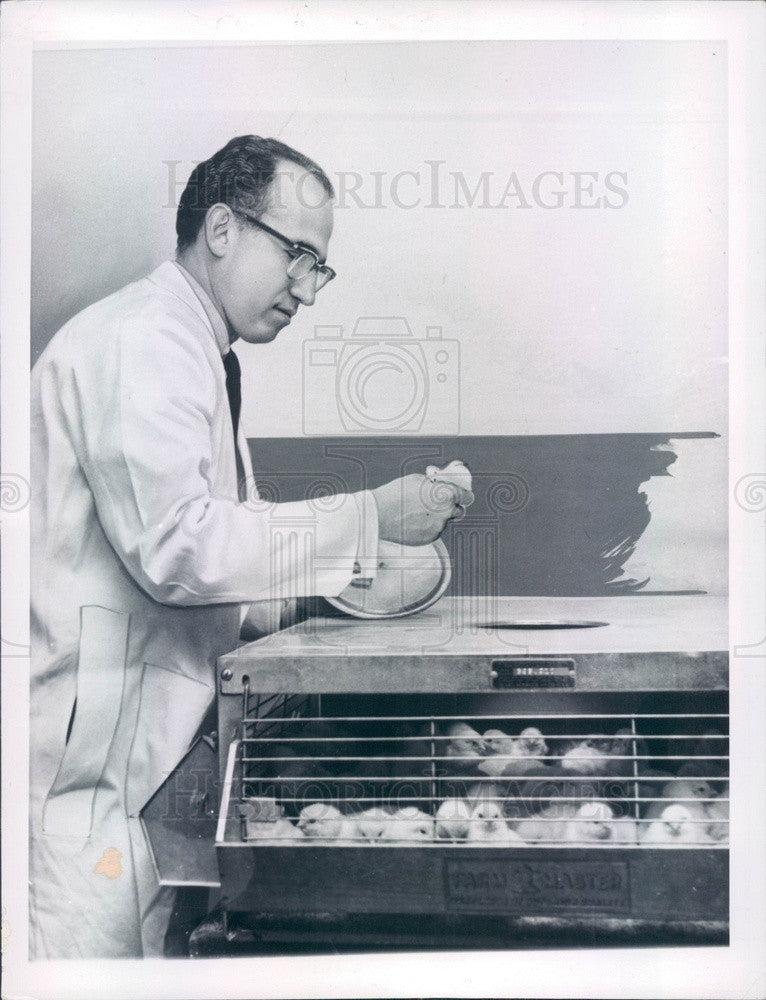 1959 Polio Vaccine Developer Dr. Jonas Salk Press Photo - Historic Images