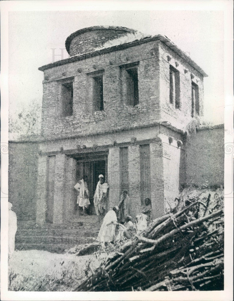 1935 Adowa, Ethiopia Church Press Photo - Historic Images