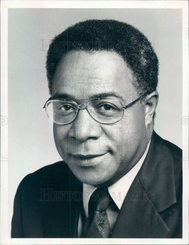 1976 Writer Alex Haley, Author of Roots Press Photo - Historic Images