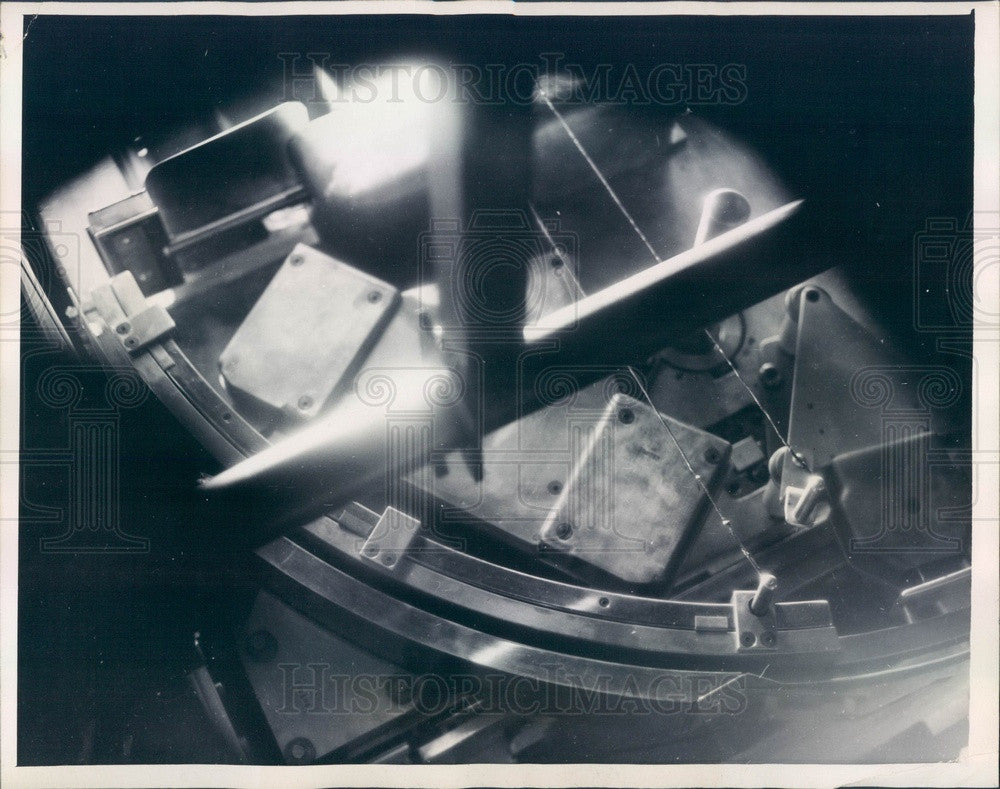 1949 Berkeley, CA Univ of CA Bevatron Pathway For Atomic Particles Press Photo - Historic Images