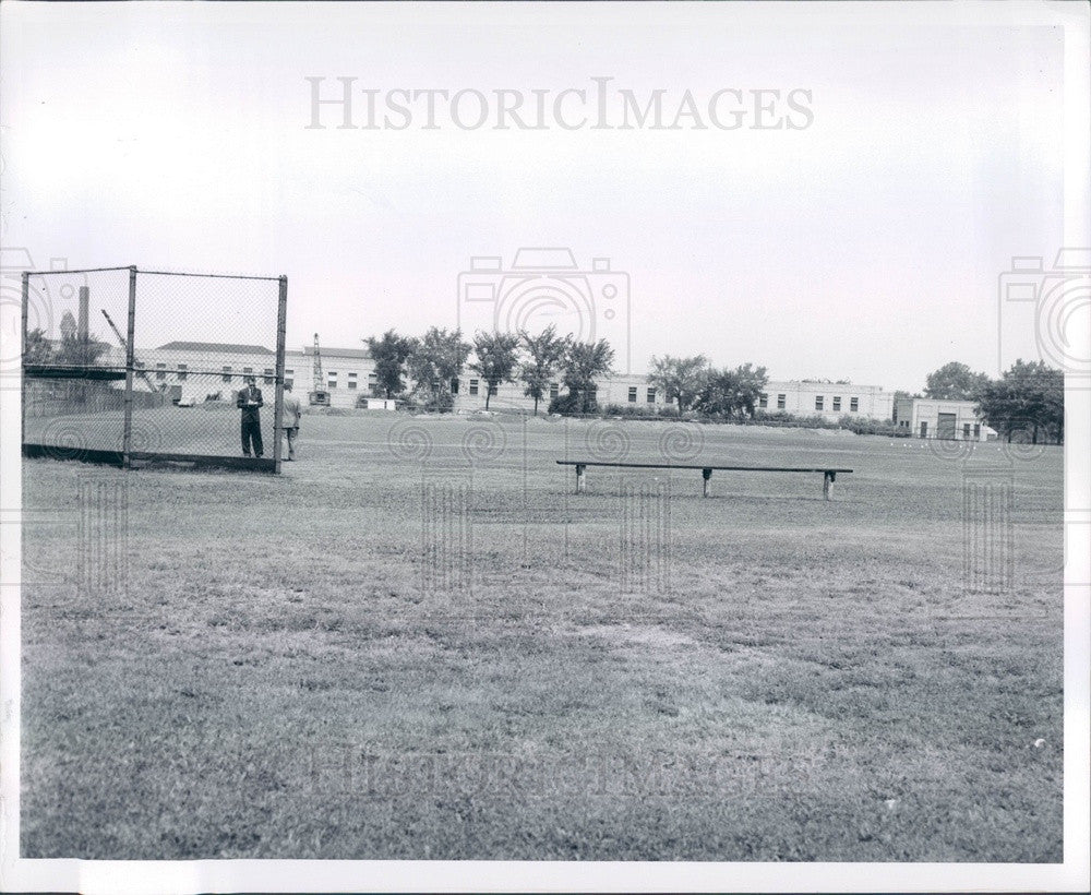 1956 Detroit, Michigan Water Works Park Press Photo - Historic Images