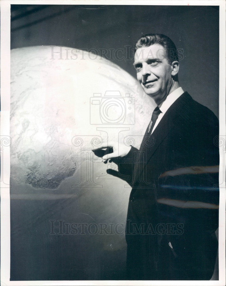 1959 NBC News Anchorman Chet Huntley Press Photo - Historic Images