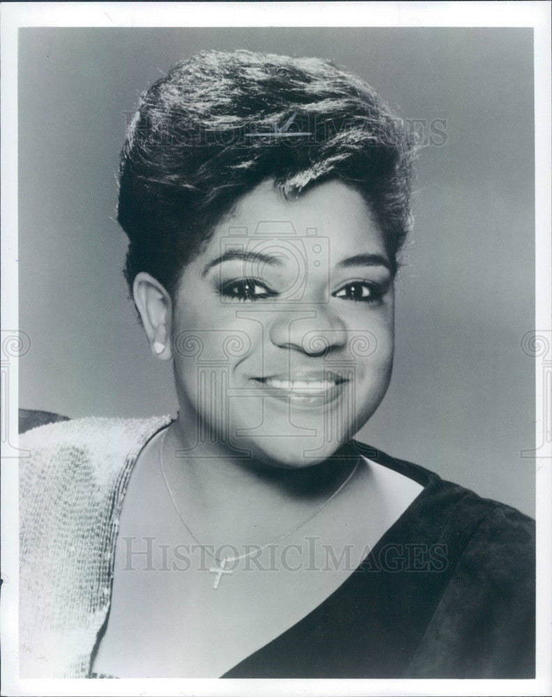1987 American Singer/Actress Nell Carter Press Photo - Historic Images