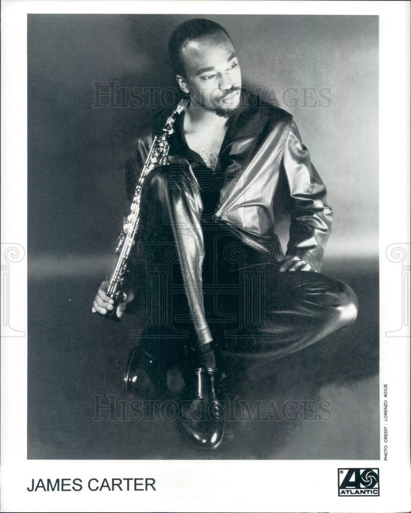 Undated American Jazz Musician James Carter Press Photo - Historic Images