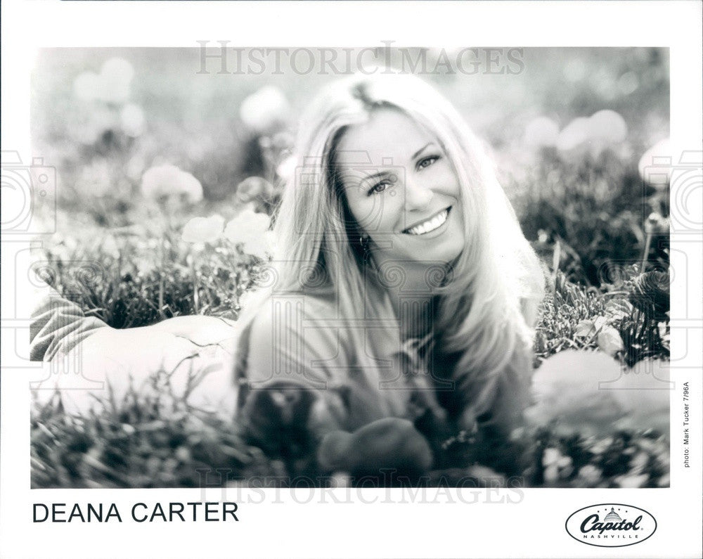 1996 Country Music Artist Deana Carter Press Photo - Historic Images